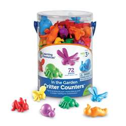 Shop In The Garden Critter Counters - Ler3381 By Learning Resources