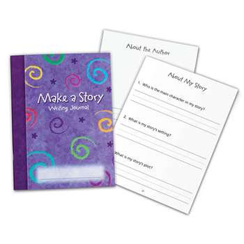 Make A Story Writing Journal 10/Set By Learning Resources