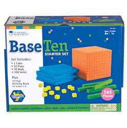 Base Ten Starter Set Brights, LER3551
