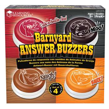 Animal Answer Buzzers By Learning Resources