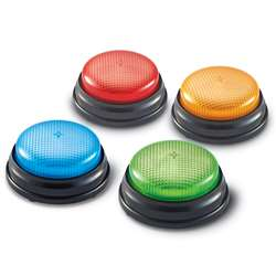 Lights And Sounds Buzzers Set Of 4 By Learning Resources
