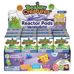 Beaker Creatures Reactor Pod Set Of 24, LER3818