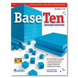 Base Ten Revived Activity Book By Learning Resources