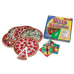 Pizza Fraction Fun Game By Learning Resources