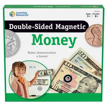 Double-Sided Magnetic Money By Learning Resources