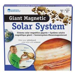 Giant Magnetic Solar System By Learning Resources