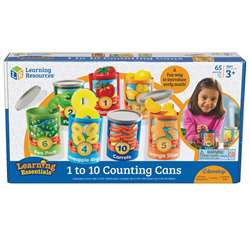 1 To 10 Counting Cans By Learning Resources
