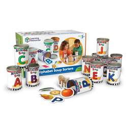 Alphabet Soup Sorters By Learning Resources