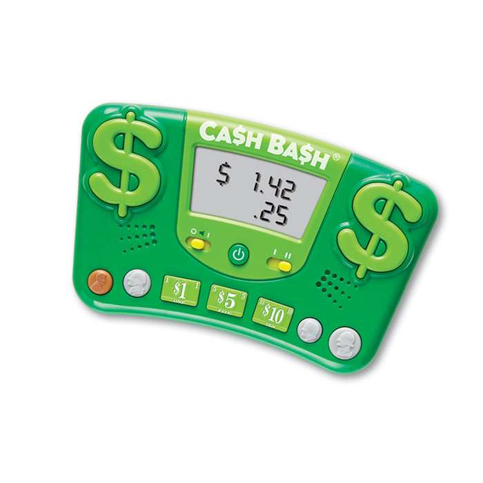 Cash Bash Electronic Flash Card By Learning Resources