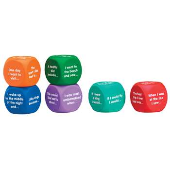 Writing Prompt Cubes By Learning Resources