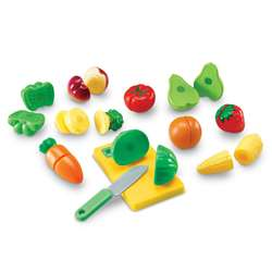 Pretend & Play Sliceable Fruits & Veggies By Learning Resources