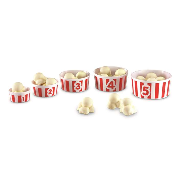 Smart Snacks Count Em Up Popcorn By Learning Resources