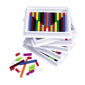 Connecting Cuisenaire Rods Multi. By Learning Resources