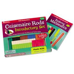 Cuisenaire Rods Intro Set 74/Pk Plastic By Learning Resources