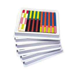 Cuisenaire Rods Multi-Pack Plastic By Learning Resources