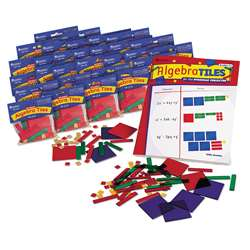 Algebra Tiles Classroom 30-Set 30 Student Sets By Learning Resources