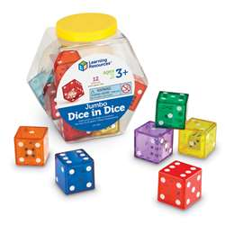 Jumbo Dice In Dice By Learning Resources