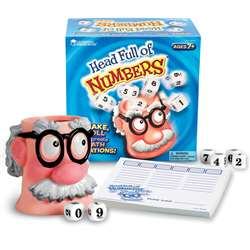 Head Full Of Numbers Math Game By Learning Resources