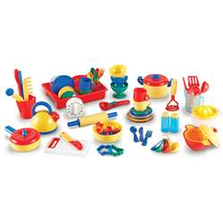 Pretend & Play Kitchen Set 70 Pieces By Learning Resources