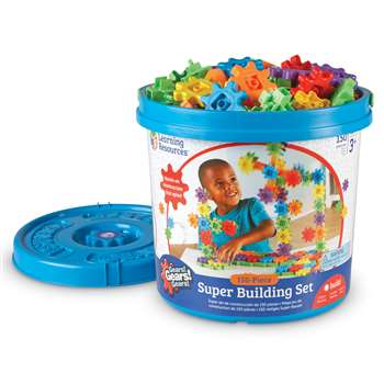 Gears. Super Set 150 Pieces By Learning Resources