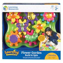 Learning Essentials Flower Garden Build & Spin, LER9219