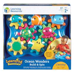Learning Essentials Ocean Wonders Build & Spin, LER9220