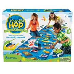Crocodile Hop, Floor Game By Learning Resources