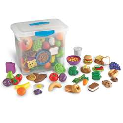 New Sprouts Classroom Play Food Set By Learning Resources