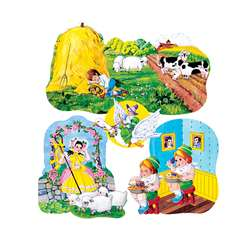 Flannelboards Set 3 Nursery Rhymes Pre Cut By Little Folks Visuals