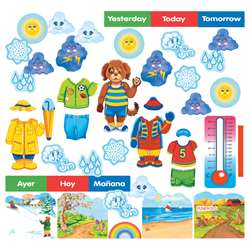 Wally The Weather Dog Flannelboard Set By Little Folks Visuals