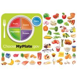 Myplate Flannelboard Set By Little Folks Visuals