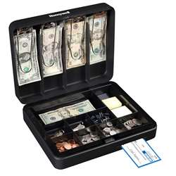 Honeywell Steel Cash Box Deluxe, LHL6113