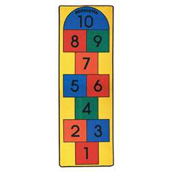 Hopscotch Carpet 27X80 By Learning Carpets