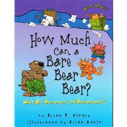 Words Are Categorical How Much Can A Bare Bear Bea, LPB0822567105