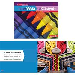 Start To Finish Wax To Crayon Book, LPB1467707988