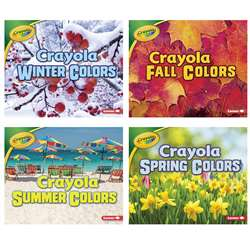 Crayola Seasons St Of 4 Books Slide, LPB1541514742