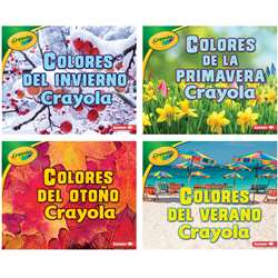 Crayola Seasons Books Spanish Set Of 4, LPB154155504X