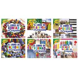 Crayola Concepts Books Spanish Set Of 6, LPB1541555058