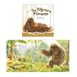 Math Bk Big Hairy Monster Count 10, LPB192524704X