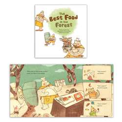 "Math Bk The Best Food "" The Forest Picture Graphs, LPB1925248666"