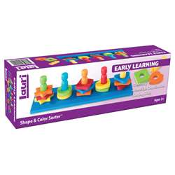 Shape & Color Sorter Ages 2-6 By Lauri