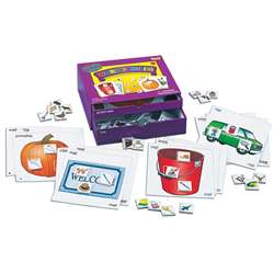 Word Families Phonics Learning Center Kit By Lauri