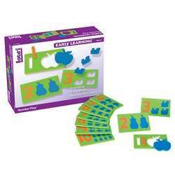 Number Play 10/Pk Ages 3-6 By Lauri
