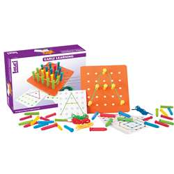 Stringing Pegs & Pegboard Set By Lauri