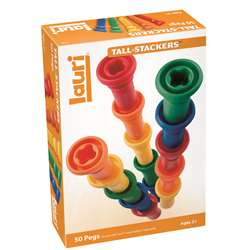 Tall-Stacker Pegs 50-Pk By Lauri