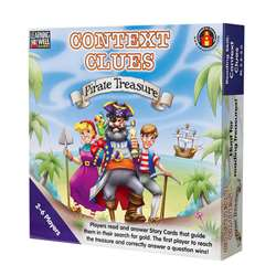 Context Clues Pirate Treasure Blue By Edupress