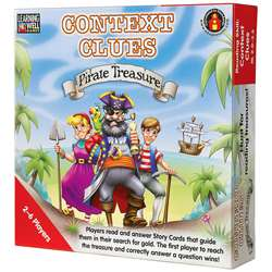 Context Clues Pirate Treasure Red By Edupress