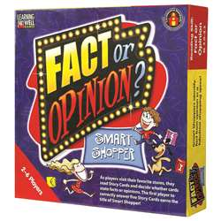 Fact Or Opinion Shopping Mall Red By Edupress