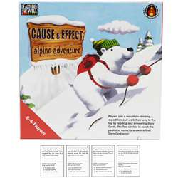 Cause & Effect Alpine Adventr Red By Edupress