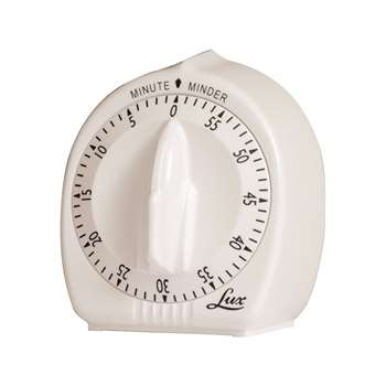 Classic Mechanical Timer By Lux Products